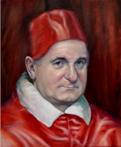Bertie Ahern as &quot;Innocent Politician&quot;<br> after &quot;Pope Innocent X&quot; by Velasquez